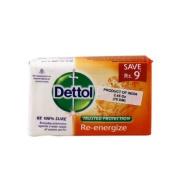 Dettol Re-energise Soap 70g soap bar