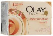 Olay Sheer Moisture Bar with Mandarin Oil, 2 ct
