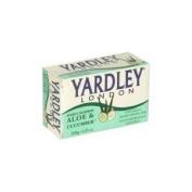 Yardley London Fresh Aloe Two Bar Soap-4.25 oz.