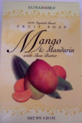 Sunaroma - Mango and Mandarin Soap with Shra Butter