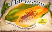 HARMONY Extra Moisturiser Fruity Soap Bar Fruitapone Plus Enriched with Natural Papaya Papain Extract Imported from Indonesia - Papaya
