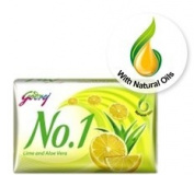 Godrej No. 1 Lime and Aloe Vera Soap 115gram