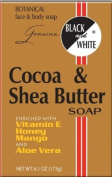 Black and White Cocoa & Shea Butter Soap 180ml
