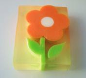 Orange Flower Large Glycerin Soap