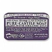 Bar Soap Organic-Lavender 150mls