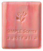 Australian made French milled Pomegranate natural soap