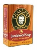 Grandpa's Sandalwood Soap with Shea Butter and Ginseng, Sandalwood Soap, 100ml