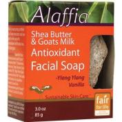 Alaffia Facial Soap with Goat's Milk Shea Butter -- 90ml