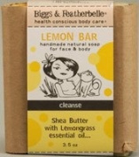 Biggs & Featherbelle Lemon Bar Cleanse Soap -- 100ml
