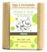 Biggs & Featherbelle Tequila Bar Handmade Natural Soap for Face and Body - Sea Salt with Lime -- 100ml