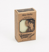 Vermont Soap Organics - Aloe Baby 100ml Bar Soap