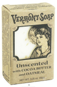 Vermont Soap Organics - Oats N' Aloe Unscented 100ml Bar Soap