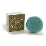 Lightfoot Pine Shave Cream Soap 80ml bar