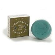 Lightfoot Pine Shave Cream Soap 80ml bar