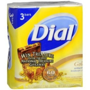 DIAL BAR SOAP 3PK GOLD 130ml