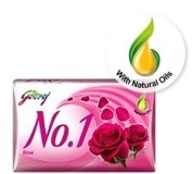 Godrej No. 1 Rose Soap 115gram