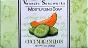 Venezia Soapworks Moisturising Soap Cucumber Melon - One Bar 210mls