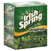 Irish Spring Deodorant Soap Bars Original, 3 Count