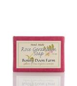 Rose Geranium Soap Bar 45ml by Bonny Doon Farm