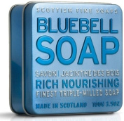 Scottish Fine Soap in Tin Bluebell