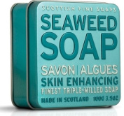 Scottish Fine Soaps Vintage Fragrances Soaps in a Tin Seaweed