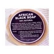 African Black Soap 100% Natural 8 0z.
