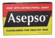 Asepso Antiseptic Soap Antibacterial Agent Healthy Skin Made in Thailand