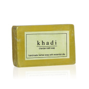 KHADI - Handmade Herbal Soap Chandan-Haldi - 125g