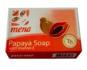 Mena Papaya Soap with Vitamin E