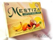 MESTIZA Complete Herbal Soap 5 Natural Whitening Extracts