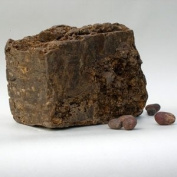Raw African Black Soap from Ghana 0.45kg