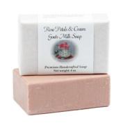 Rose Petals & Cream Goats Milk Soap - 120ml bar
