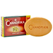 Chandrika Sandalwood Ayurvedic Soap - 75 Gramme Each Bar