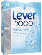 Lever 2000 w Vaseline Intensive Care Original - Perfectly Fresh w nutrients & minerals 130mls.