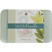 Epi de Provence Sage Vanilla 200 gr Shea Butter Soap