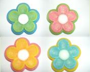 4 Shape Flowers Soaps in Glycerin