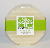 JustNeem All Natural Neem Soap 120g bar - Wind and Sea