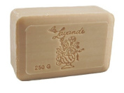 La Lavande Ginger Jasmine Soap, 250g wrapped bar, Imported from France
