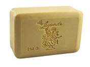 La Lavande Honey Almond Soap, 250g wrapped bar, Imported from France