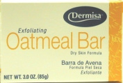 Dermisa Soap Oatmeal 90ml (3-Pack) with Free Nail File
