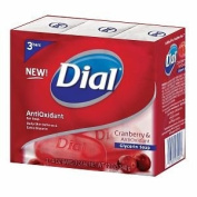 Dial Cranberry and Antioxidant Glycerin Soap Bar, 8 Count