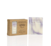 Level Naturals White Lavender 100% Pure Vegan Gluten Free Natural Soap 180ml
