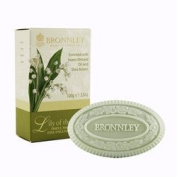 Bronnley Lily of the Valley Single Soap 100ml soap bar