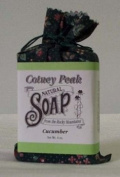 Cucumber 120ml Cotton Wrapped Soap