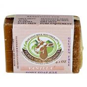 Tierra Mia Organics, Raw Goat Milk Skin Therapy, Body Soap Bar, Vanilla, 120ml