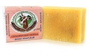 Tierra Mia Organics, Raw Goat Milk Skin Therapy, Body Soap Bar, Cinnamon Leaf Vanilla, 120ml