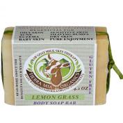 Tierra Mia Organics, Raw Goat Milk Skin Therapy, Body Soap Bar, Lemon Grass, 120ml