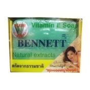 Bennet Vitamin E Soap Aloe Vera Extract 130 G. Thailand Product