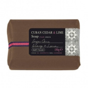 Cuban Cedar Lime Wash Bar 150g soap bar by Bath House