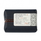 Spanish Fig and Nutmeg Wash Bar 150g soap bar by Bath House